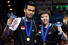 Tontowi Ahmad & Liliyana Natsir