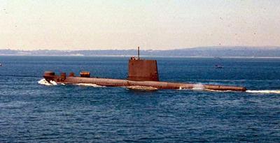 kapal selam nuklir iran