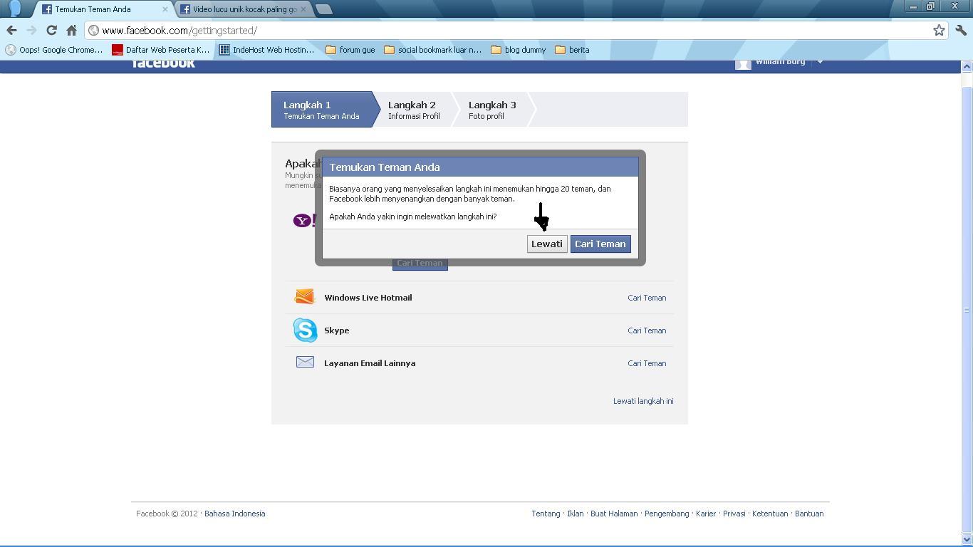 yahoo.com login facebook