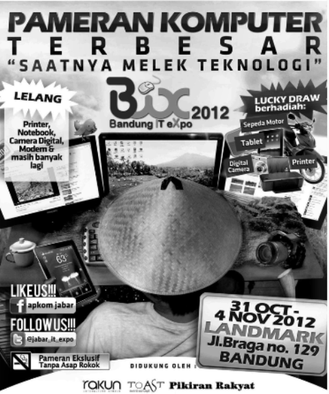 Pameran komputer Bandung IT Expo 2012