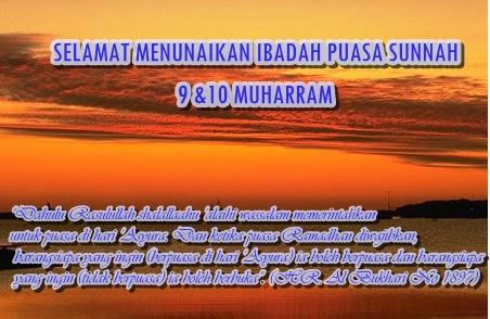 Keutamaan Puasa Asyura' 9 & 10 Muharram