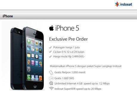 iphone5indosat - Bingkai Berita