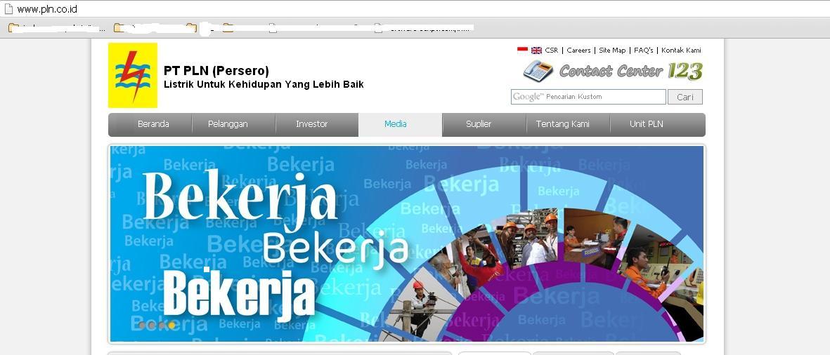website resmi pln