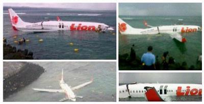 Pesawat Lion Air Jatuh di Laut bali 3