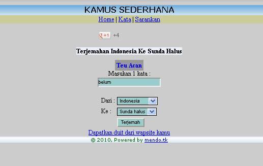 kamus online sunda dan jawa