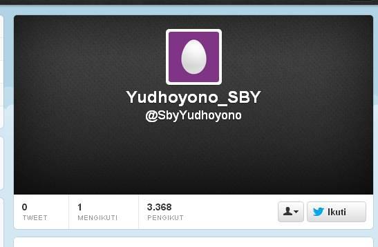 twitter palsu sby