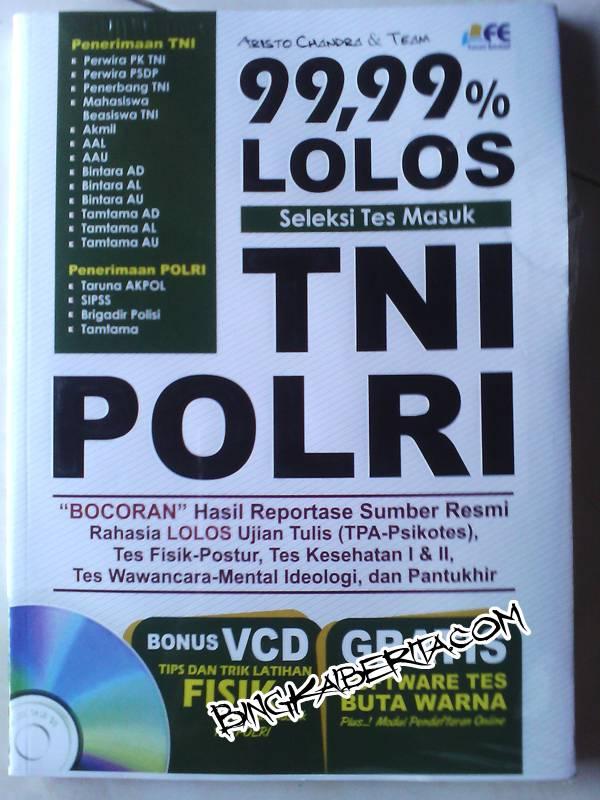 Buku Seleksi TNI PLORI