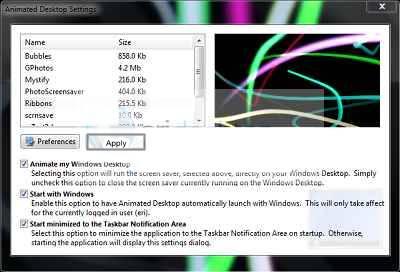 Trik Wallpaper Keren Windows 7 Dan Windows 8 Agar Bergerak