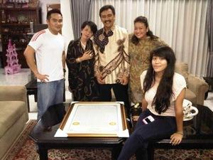 Foto-Foto Bunda Putri Bersama Pejabat-Pejabat Tinggi