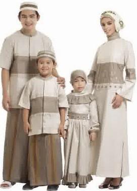 Busana Muslim Lebaran untuk Keluarga