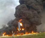 kebakaran pipa pertamina subang