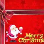 Kartu Ucapan Natal Merry Christmas
