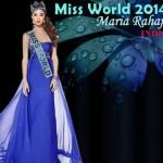 Miss World 2014 Maria Rahajeng Indonesia