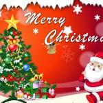 Pohon Natal & Santerclus