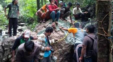 Batu Giok 20 ton Nagan Raya