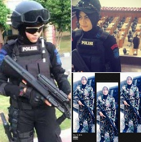 Bripda Nina Octaviana, Brimob Cantik Polda Aceh