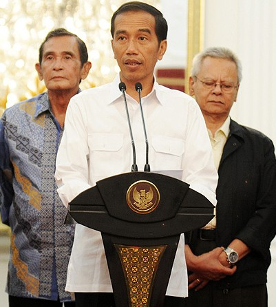Jokowi Jumpa Pers