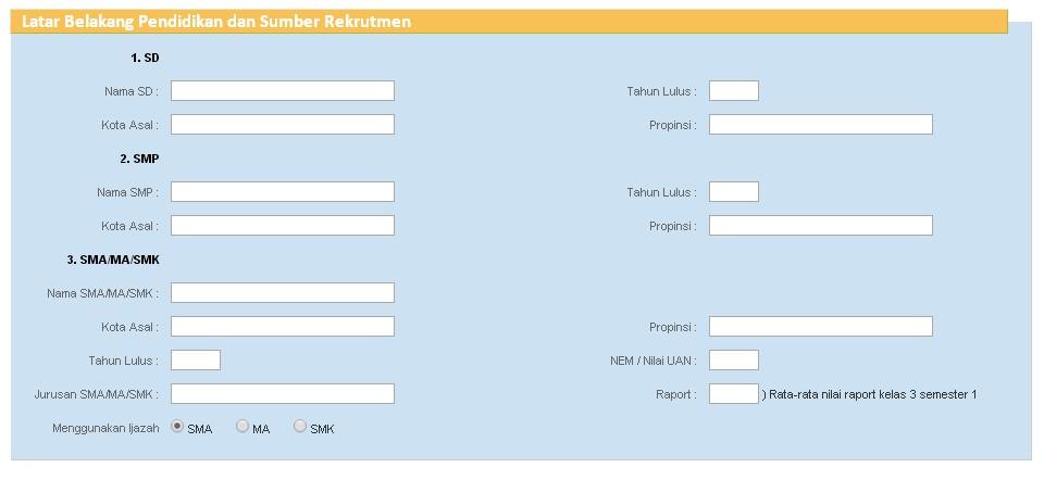 Pendaftaran Online Polri Polisi Ta 2019 2020 2021 Sipss Akpol