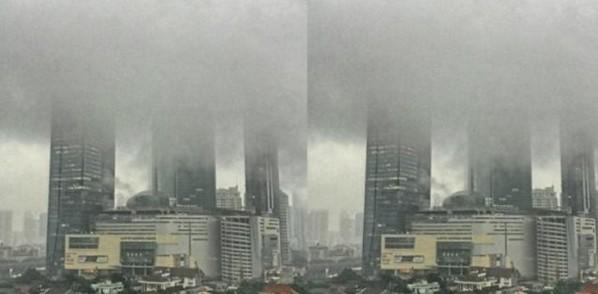 Tragedi Awan Hitam Jakarta