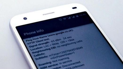 Tombol Menu Rahasia Android