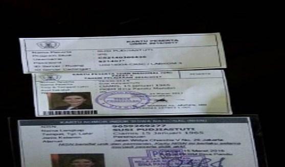 Menteri Susi Daftar Ujian Paket C