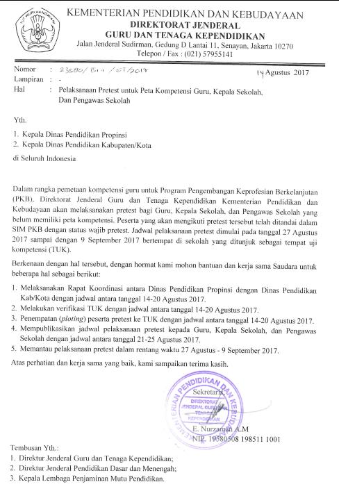 Jadwal Pre test PKB SIM PKB