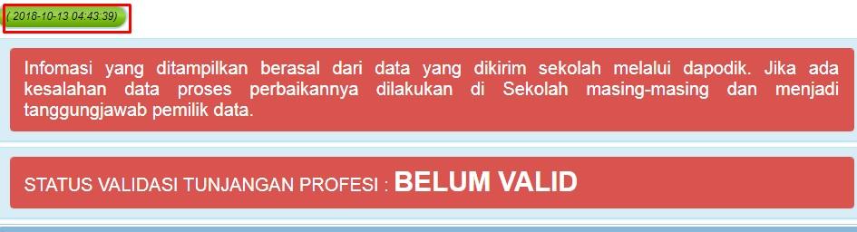 SKTP Belum Valid