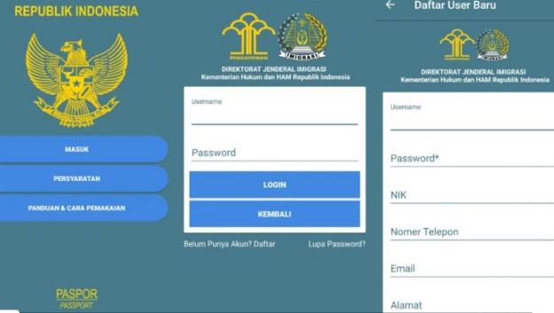 Daftar Paspor Baru