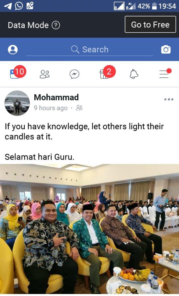 Ucapan Selamat Hari Guru Facebook