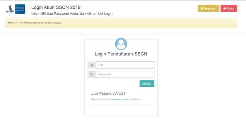 Login SSCN