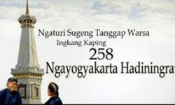 Hastag #HUTJOGJA258 Trending Topic di Twitter