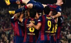 Ucapan Selamat Barca Untuk Messi Sebagai Raja Gol La Liga