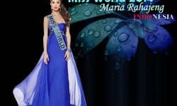 Foto Profil Biodata Maria Rahajeng Pemenang Ratu Kecantikan Miss Indonesia 2014