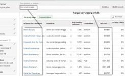 cara search google keyword planner